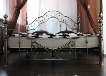 Кровать двуспальная винтажная кованая