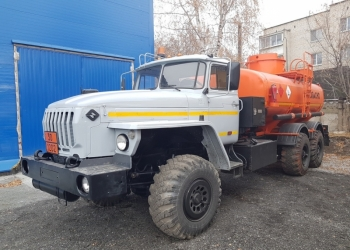 АТЗ-12 на шасси Урал-4320 топливозаправщик