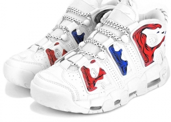 Nike uptempo X supreme
