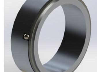 Кольцо дифференциальное 24 60 76 мм алюминий