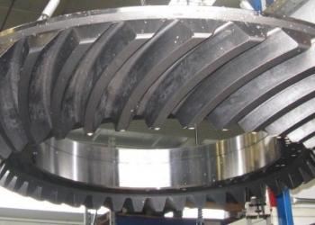 Косозубые шестерни, колеса зубчатые, производство шестерен