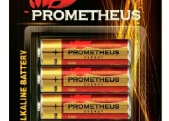 "Элемент питания AA/LR6-BL4, ""Prometheus energy"", напряжение - 1,5 V, алкалайнова"