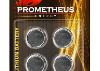 "Элемент питания CR2016-BL4, ""Prometheus energy"", напряжение - 3 V, литиевая бата"