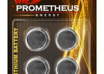 "Элемент питания CR2025-BL4, ""Prometheus energy"", напряжение - 3 V, литиевая бата"