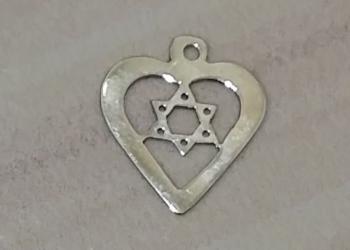 подвеска Маген Давид звезда шестиконечная Израиль золото 0,25 грамм
