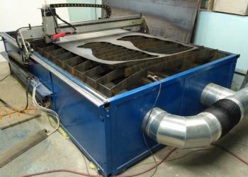 Установка плазменной резки металла 1.5 х 2.75 м