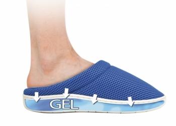 Тапочки cool bamboo anti-fatigue gel slippers