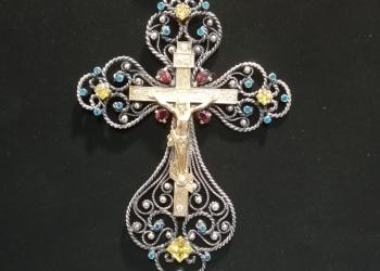 Крест серебро 925пр. Наперсный