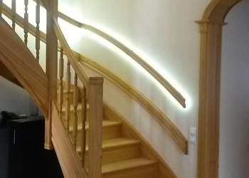 Лестницы деревянные премиум класс