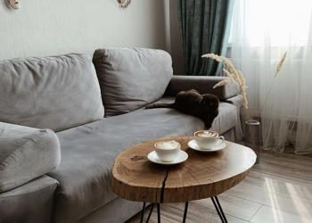 Кофейные, обеденные, рабочие столы из спила и слэба в стиле Loft