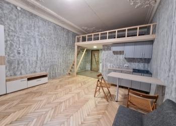 Готовая комната-студия 30м.кв.