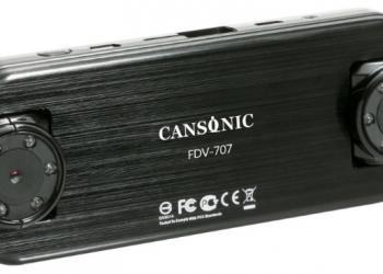 Видеогистратор CANSONIC FDV-707GPS