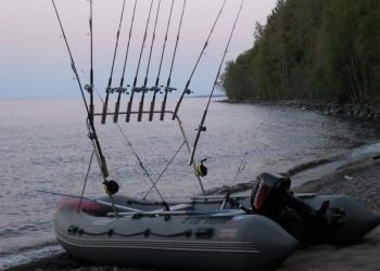 Тарга универсальная раздвижная для лодок ПВХ и малых катеров