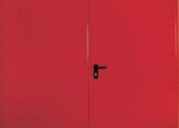 Противопожарная дверь 60, производство