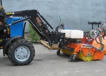Навесная дорожно-уборочная машина Tuchel Plus P1 200 HH 560