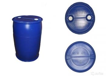 Новая пластиковая бочка 227 литров