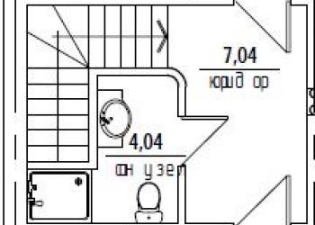 Продается 2 этажный дуплекс от застройщика