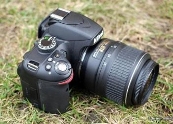 Зеркальный фотоаппарат Nikon D3200 + 18-105 VR Black