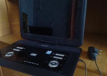 Продам портативный DVD+TV