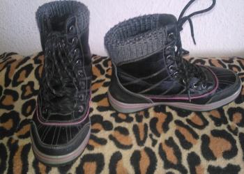 Ботинки натуральные 34 размер зима, холод. весна