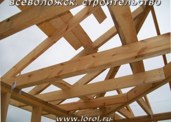 Строительство   каркасных построек