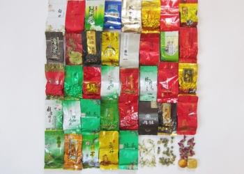 Набор чая 40 видов: Белый чай, Пуэр, Улун...