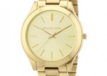 Часы женские Michael Kors Glamour, золотой циферблат
