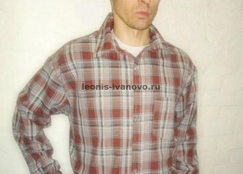 Рубашки мужские бязь оптм
