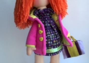 Катрин, кукла ручной работы/ Пошив игрушек на заказ