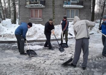 Ручная Чистка снега подсобные рабочие