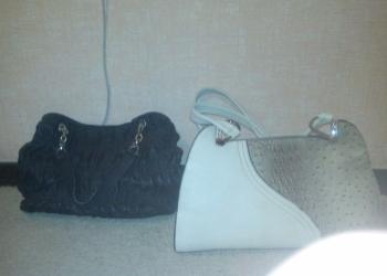 2 сумки черная + белая