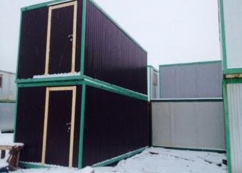 Блок контейнер бытовка утеплённый 6 х 2.40