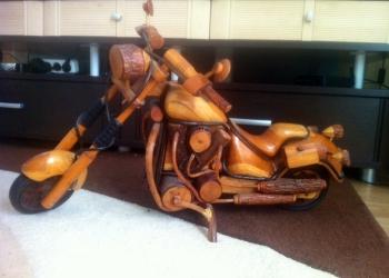 Мотоцикл ручной работы для вашего интерьера
