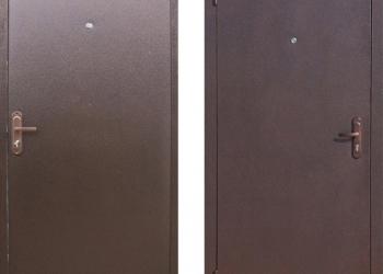 Дверь входная металлическая эконом
