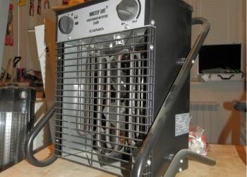 Электротепловентилятор ЭТВ-Б-5Л реж: вент./2,5/5 кВт/380 В + терморегулятор