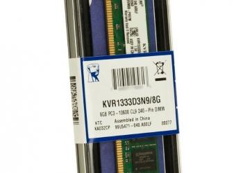 Модуль памяти kvr1333d3n9/8g