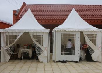Прокат столов, стульев, посуды и шатров на свадьбу