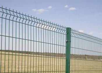 3D забор, 3Д сварная панель 2430x2500x4мм