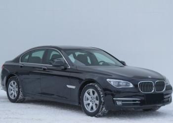 Прокат авто с водителем в Минске.  BMW 7 F02 Long.