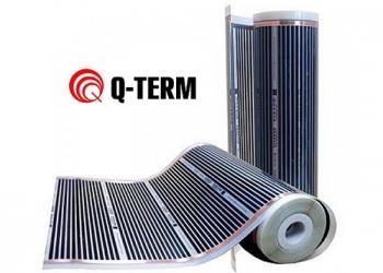 Инфракрасный пленочный теплый пол Q-Term 0,5 м²