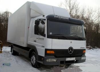 Mercedes ФУРГОН 34кубометра