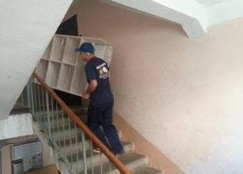 Подъем мебели, стройматериалов на 23 этаж.
