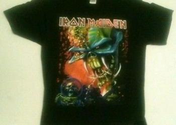 Майка Iron Maiden с коротким рукавом