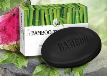 Бамбуковое мыло с турмалином 100 г.
