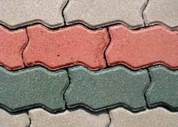 Плитка тротуарная.Брусчатка.Волна.