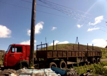 Камаз 54112 грузовой седельный тягач с двигателем ЯМЗ 238 + полуприцеп бортовой