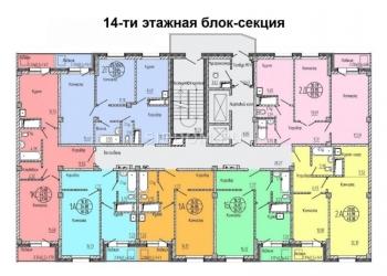 1-к квартира, 36 м2, 11/16 эт.