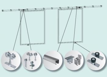 Комплектующие для подвесных ворот
