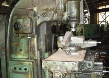 Станок вертикально-фрезерный 6М13П 1972г.в