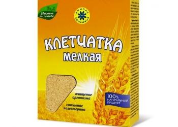 Клетчатка пшеничная мелкая 200 гр., Компас здоровья